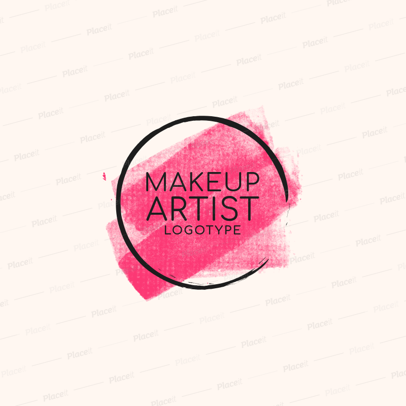 Beauty Logo Template To Create A Makeup